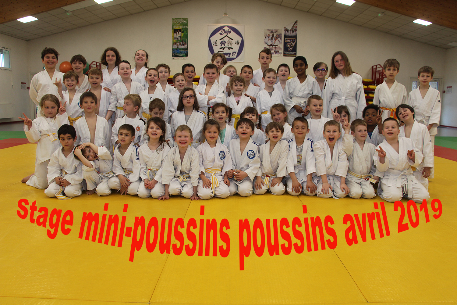 stage mini poussins small